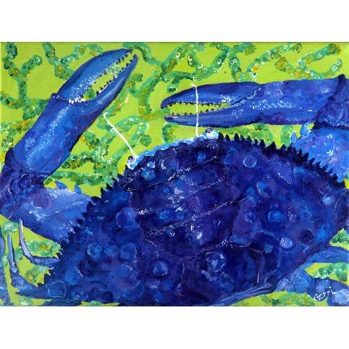 My Island Crab Canvas Mat