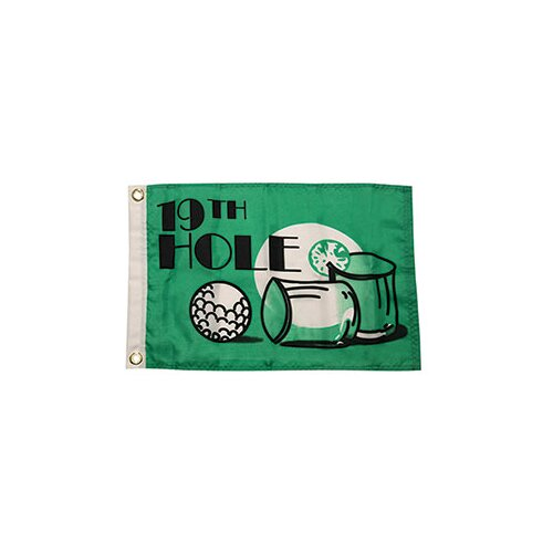 Taylor Made Products Novelty Design '19th Hole' Traditional Flag