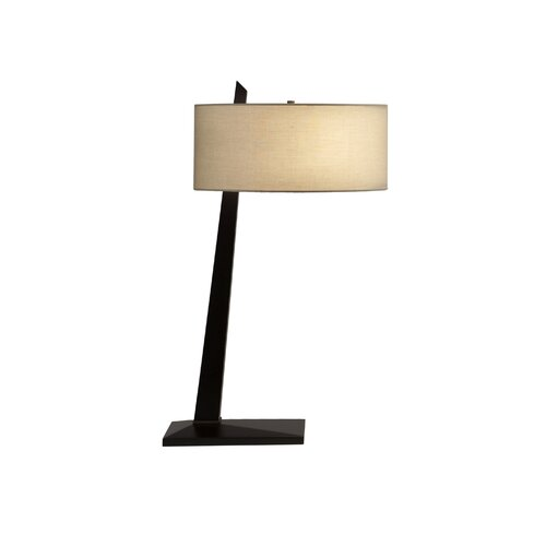 """Nova Tilt Slant 30"""" H Table Lamp"""