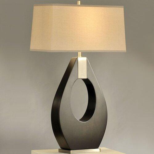 "Nova Pearson 30"" H Table Lamp with Rectangle Shade"