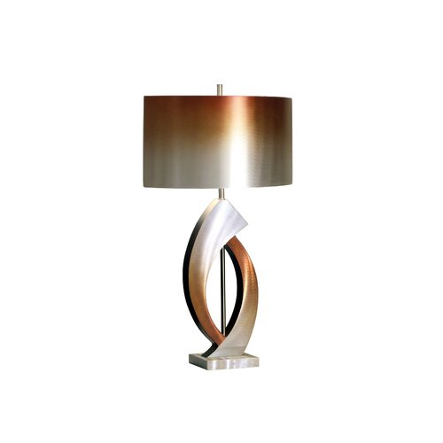 """Nova Swerve 30"""" H Table Lamp with Drum Shade"""