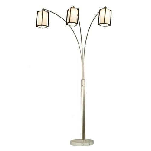 britta arc floor lamp wayfair. Black Bedroom Furniture Sets. Home Design Ideas