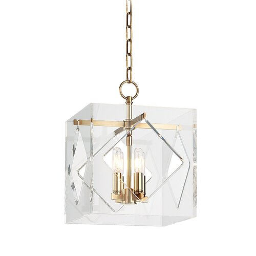 Travis 4 Light Foyer Pendant