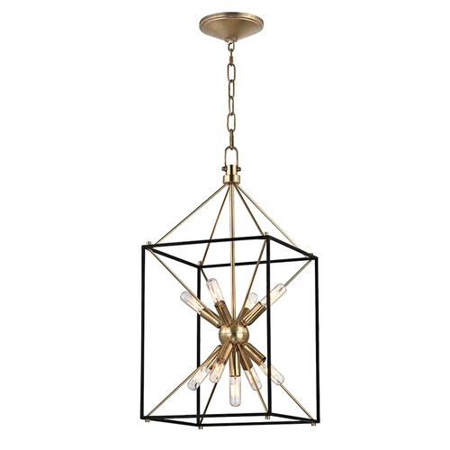 hudson valley lighting glendale 9 light foyer pendant. Black Bedroom Furniture Sets. Home Design Ideas