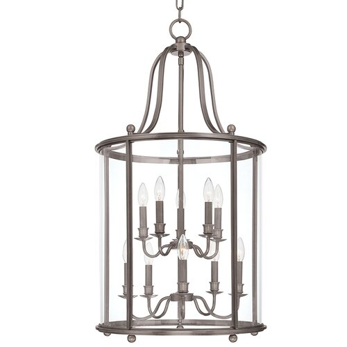 Mansfield 10 Light Foyer Pendant