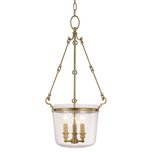 Hudson Valley Lighting Quinton 3 Light Foyer Pendant