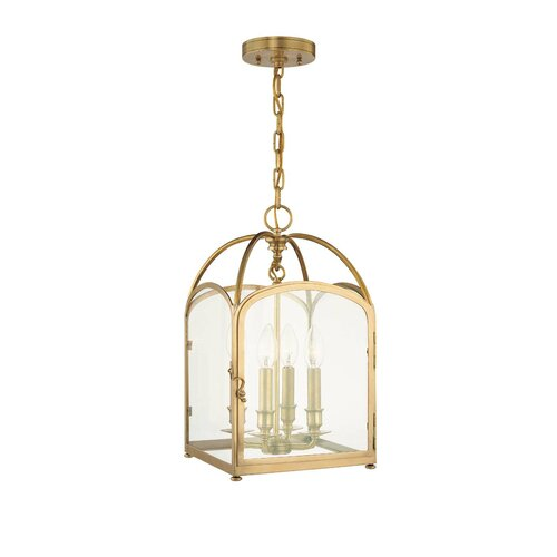 Hudson Valley Lighting Oxford 4 Light Candle Foyer Pendant