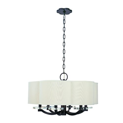 Garrison 6 Light Drum Pendant