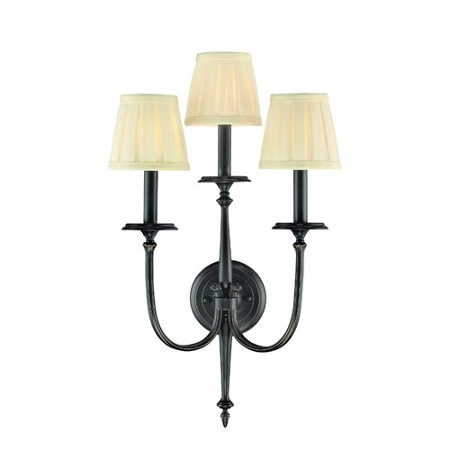 Hudson Valley Lighting Jefferson 3 Light Wall Sconce