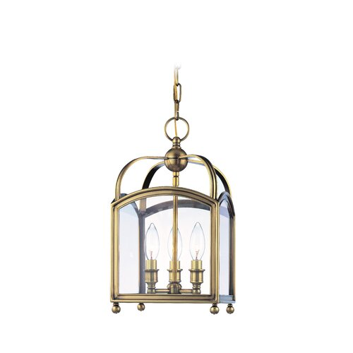 Hudson Valley Lighting Millbrook 3 Light Foyer Pendant