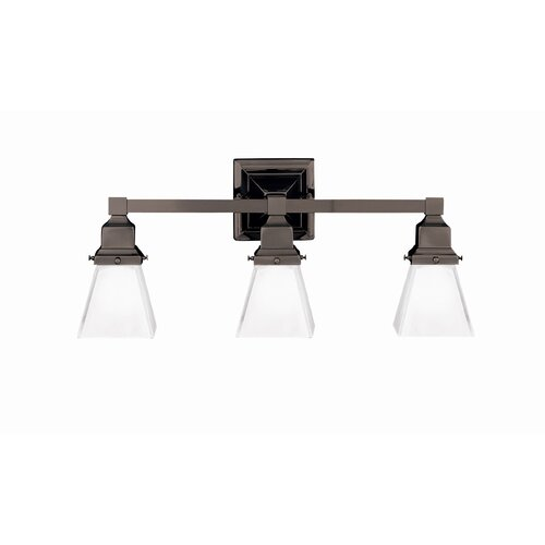 Hudson Valley Lighting Gramercy 3 Light Square Bath Vanity