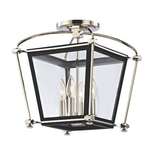 Hudson Valley Lighting Hollis 4 Light Semi Flush Mount
