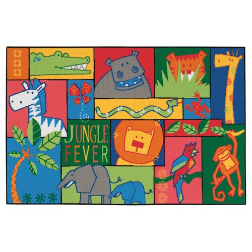 Kids Value Rugs Jungle Fever Kids Rug