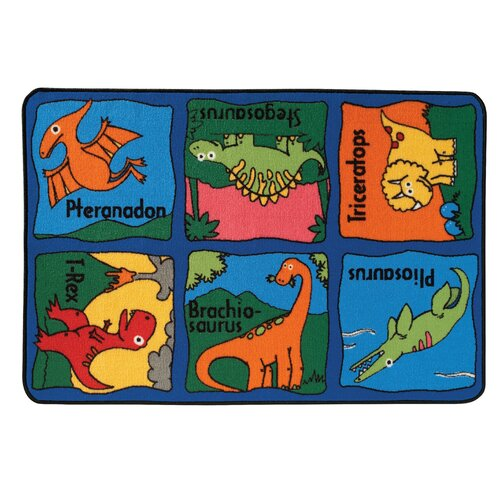 Kids Value Rugs Dino-Mite Kids Rug