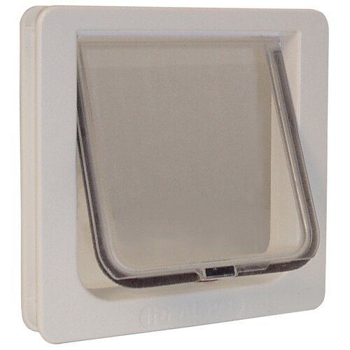 "Ideal Pet Products 8-3/16"" x 7-15/16"" 4 Way Locking Cat Flap"