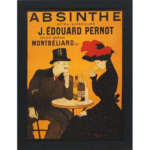'Absinthe' by Vintage Apple Framed Vintage Advertisement