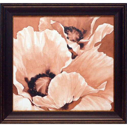 'Sepia Summer' by Maggie Thompson Framed Painting Print