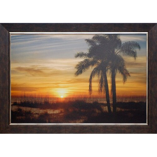 'Ana Maria Sunset' by Mike Jones Framed Graphic Art
