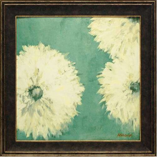 'Floral Cache II' by Julianne Marcoux Framed Painting Print