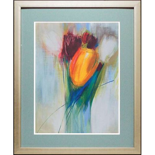 North American Art 'Ovazione' by Karen Parker Framed Painting Print