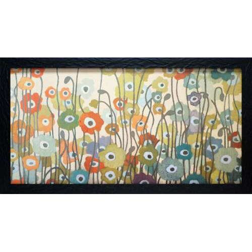 North American Art 'Spectrum' by Sally Bennett Baxley Framed Painting Print