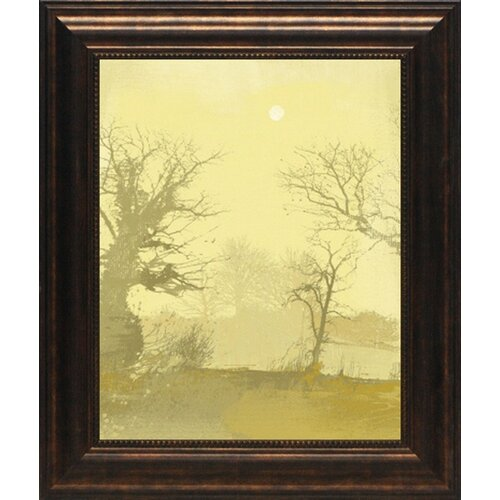 North American Art 'Misty IV' by Ken Hurd Framed Painting Print