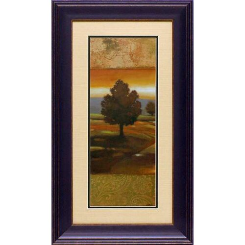 'Sunset Creek I' by Norman Wyatt Framed Painting Print