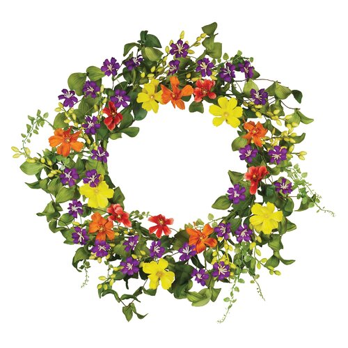 "Oddity Inc. 18"" Cosmos Summer Treat Wreath"