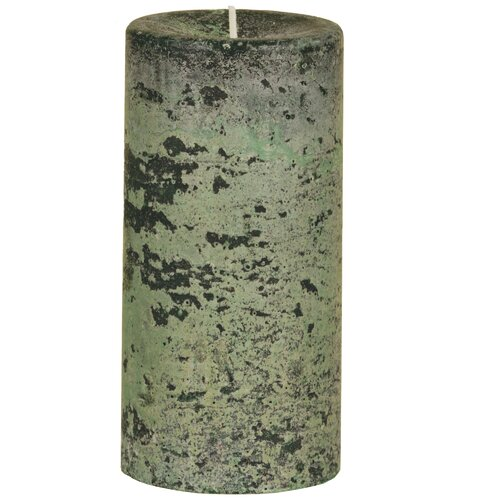 Oddity Inc. Weathered Woodland Pillar Candle