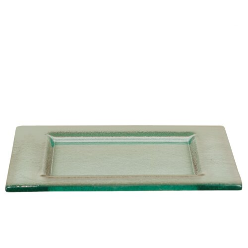 Square Shaped Glass Tray