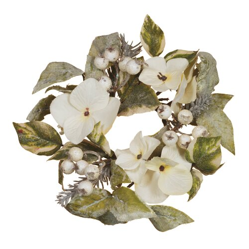 Oddity Inc. Hydrangea and Berry Pine Candle Ring