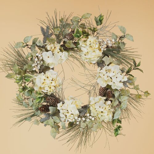 Oddity Inc. Hydrangea and Berry Pine Wreath