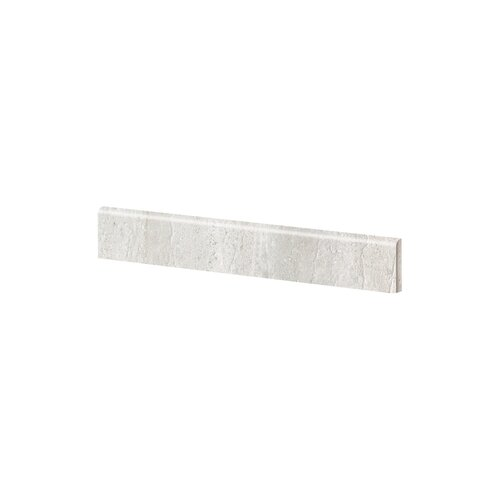 "Samson Tile Travertini 3"" x 16.75"" Baseboard in Grigio"