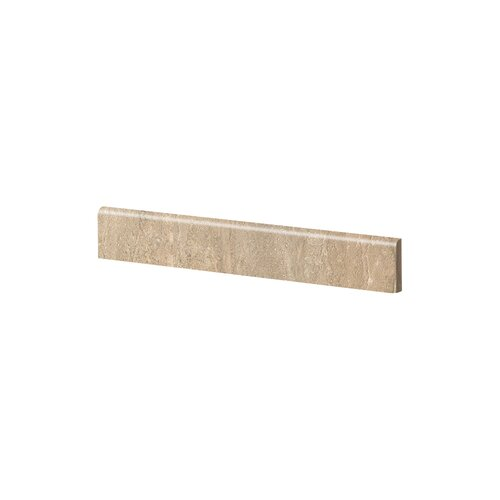 "Samson Tile Travertini 3"" x 16.75"" Baseboard in Noce"