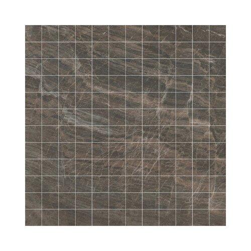 Samson Tile Anthology Mosaic Floor Tile in Brown