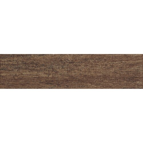 "Samson Tile Barrique 6"" x 24"" Matte Floor Tile in Castagno (Box of 14)"