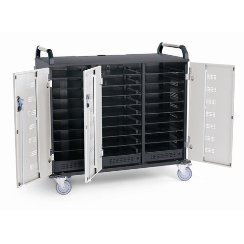 Anthro 27-Compartment Deluxe Laptop Charging Cart