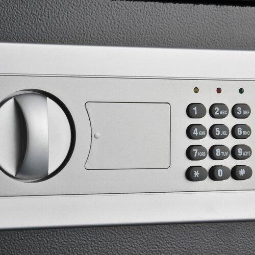 Stalwart Electronic Digital Lock Steel Safe