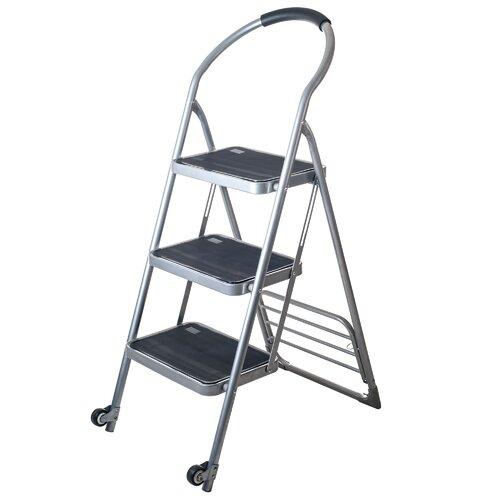 Stalwart Step Ladder Folding Cart Furniture Dolly