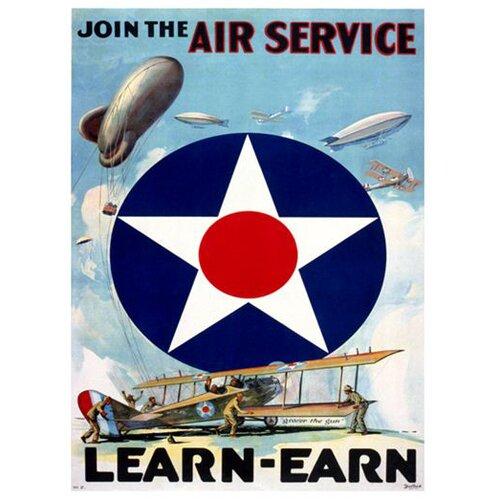 Air Force Vintage Advertisement