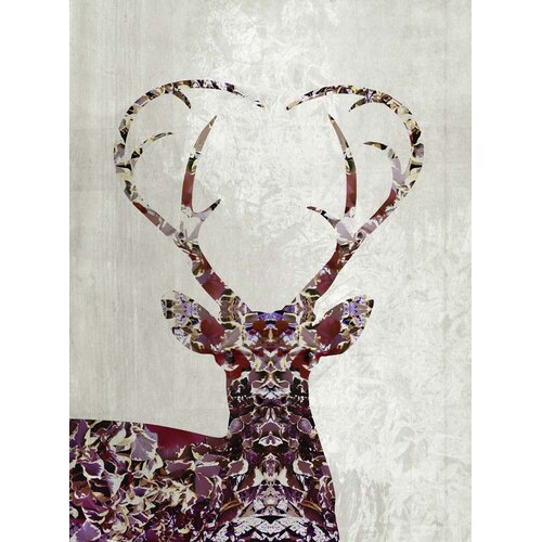 'My Deer Love' by Angelo Cerantola Graphic Art on Canvas