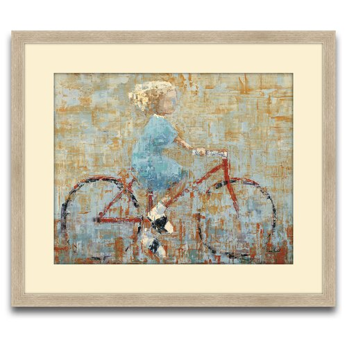 Epic Art Bicycle Framed Original Paintings