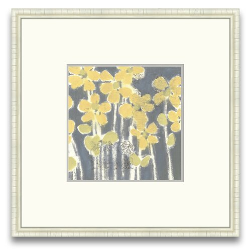 Magnifique Efflorescence Sunny Breeze III Framed Graphic Art