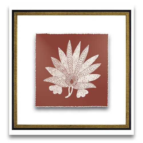 Natural Impressions Suzani II Framed Graphic Art