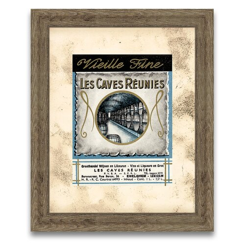 The Connoisseur's Eye Wine Label III Framed Graphic Art
