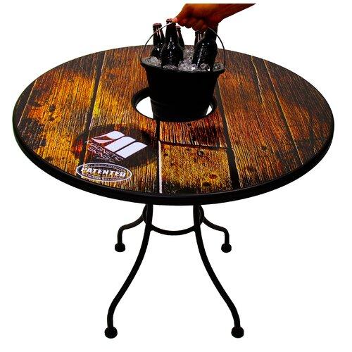 Sports and LifeStyle Hardwood Bucket Table