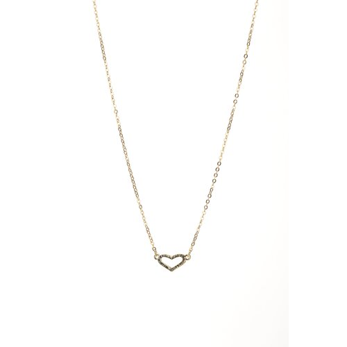 Marlyn Schiff Heart Necklace