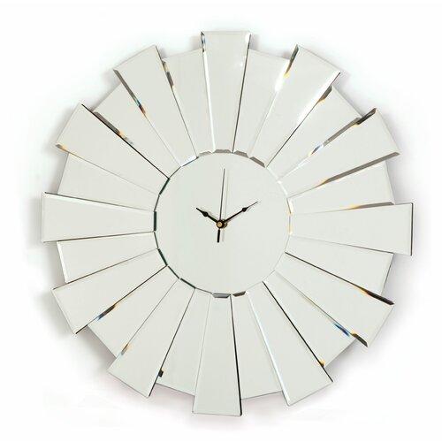 Innova Sunburst Mirror Wall Clock Reviews Wayfair Uk