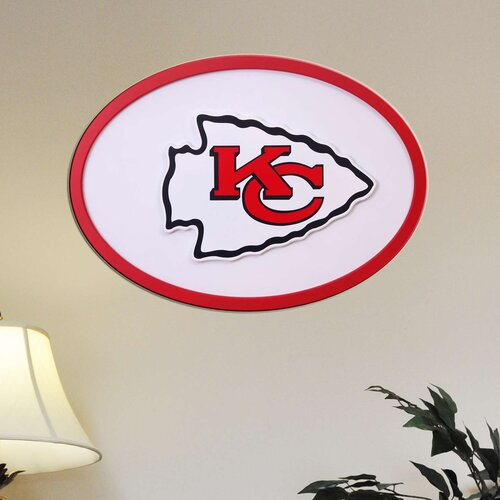 Fan Creations NFL Logo Graphic Art Plaque