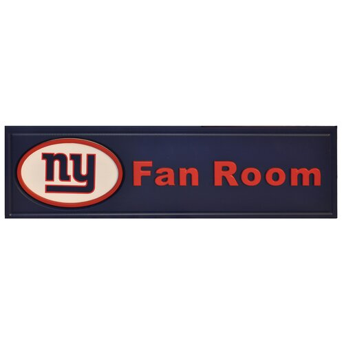 Fan Creations NFL Fan Room Graphic Art Plaque